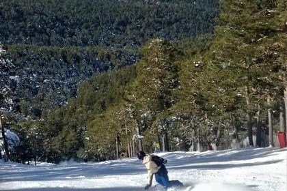 Desaparecerá la estación de esquí de Navacerrada (Madrid)