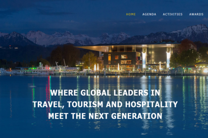 WHERE GLOBAL LEADERS IN TRAVEL, TOURISM AND HOSPITALITY MEET THE NEXT GENERATION