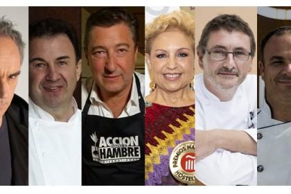 Toda la hostelería unida en defensa de la gastronomía y el turismo, a través de sus grandes chefs
