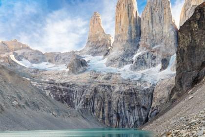 Las pintadas en la reserva natural de las Torres del Paine que han llevado a una turista ante un tribunal