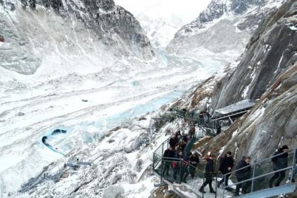 Francia limitará el acceso al Mont Blanc, la montaña más alta de Europa occidental