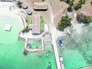 Múcura, una isla que podríamos perder por el cambio climático